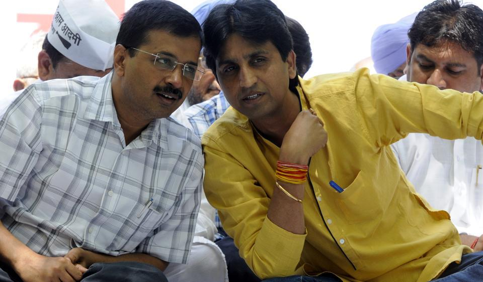 AAP MLAAmanatullah Khan had alleged that Kumar Vishwas was trying to take over the party. Khan had resigned from the party's political affairs committee.