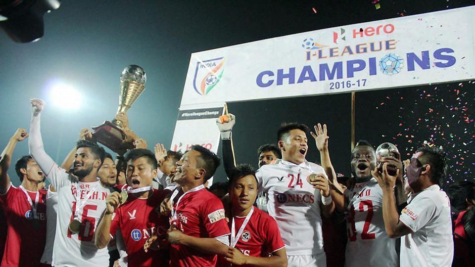 Aizawl Football Club,Lajong,Shillong