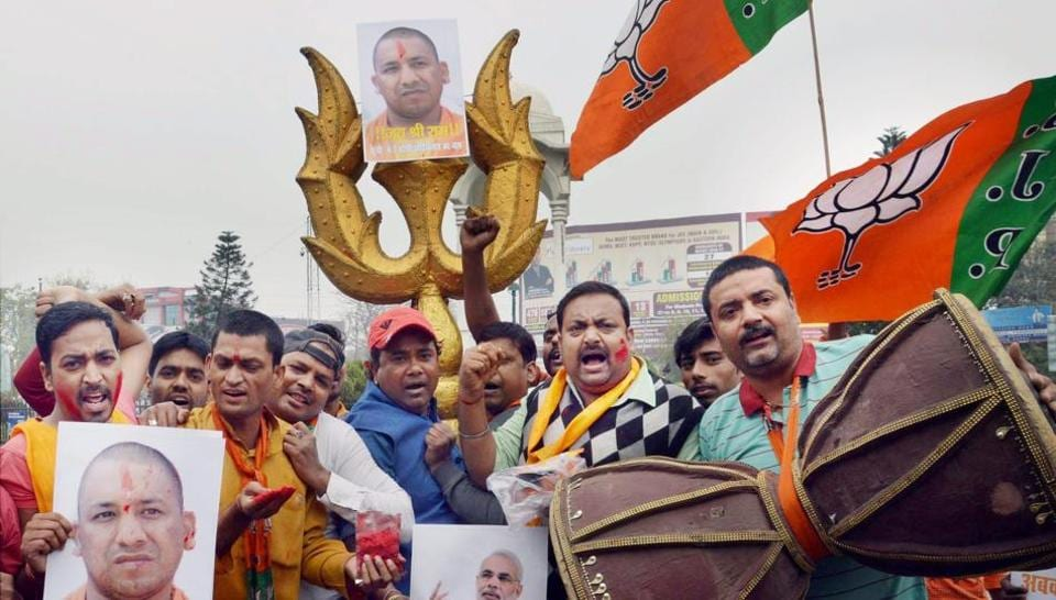 UP BJP to use party workers to highlight government's achievements and programmes.