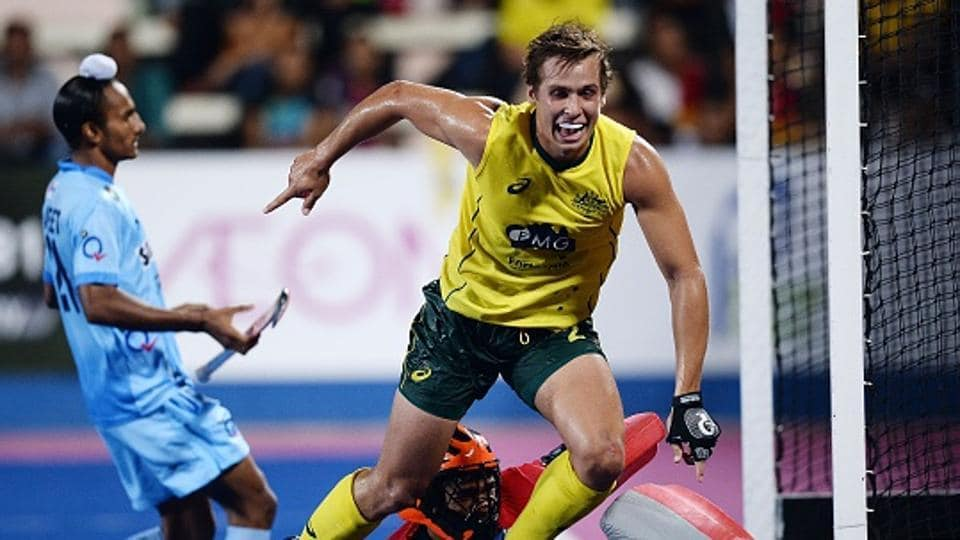 Tom Craig scored one of the three goals Australian hockey team pumped in against Indian hockey team after going down by a goal in the second quarter during their round-robin league match of the Sultan Azlan Shah Cup.