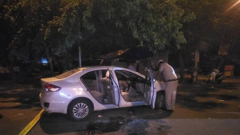 A Delhi Police assistant sub-inspector and two others were shot dead and a constable injured in outer Delhi's Mianwali area when some unidentified men opened fire at them late on Sunday night.