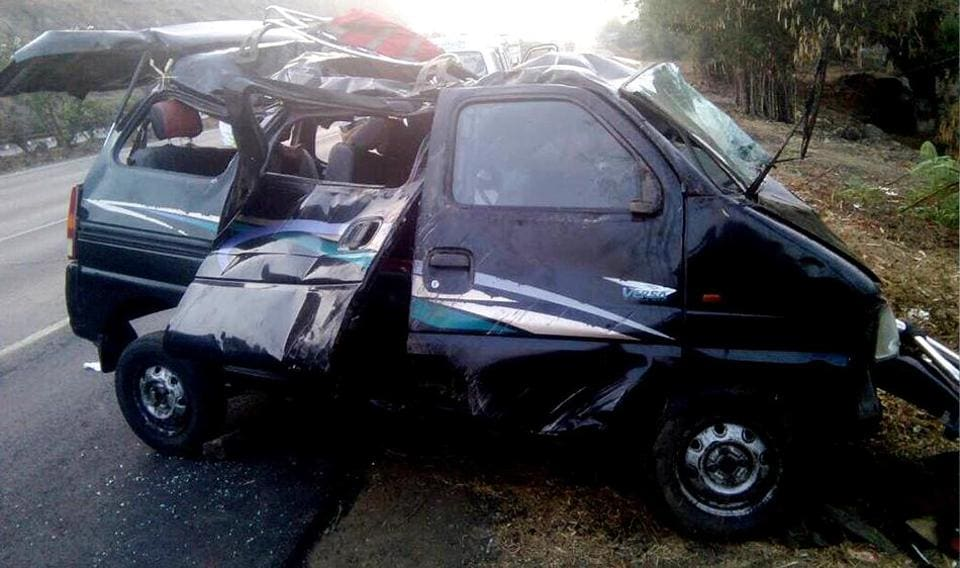 Three people died and six other sustained injuries in accident that occurred on the Mumbai-Pune Expressway last week.