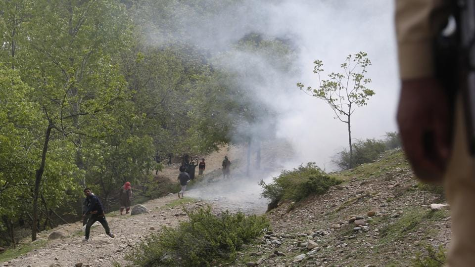 Kashmir has witnessed a wave of protests and incidents of stone-pelting since the death of militant leader Burhaan Wani.
