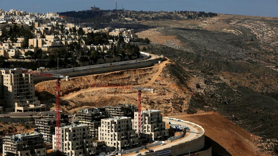 A general view shows the Israeli settlement of Ramot in an area of the occupied West Bank that Israel annexed to Jerusalem January 22, 2017.