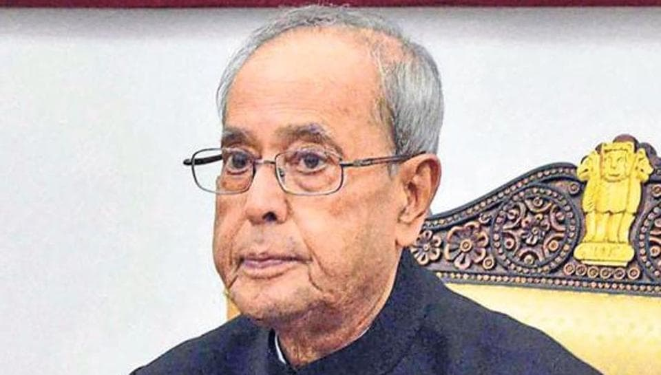 President Pranab Mukherjee delivers his New Year Message to governors and lieutenant governors through video conferencing.