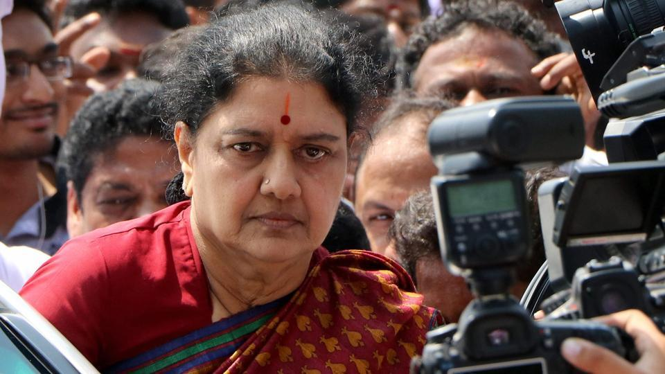 File photo of VK Sasikala