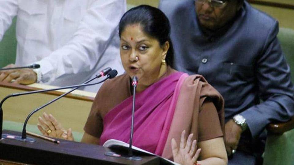 Rajasthan,Vasundhara Raje,Smart Cities