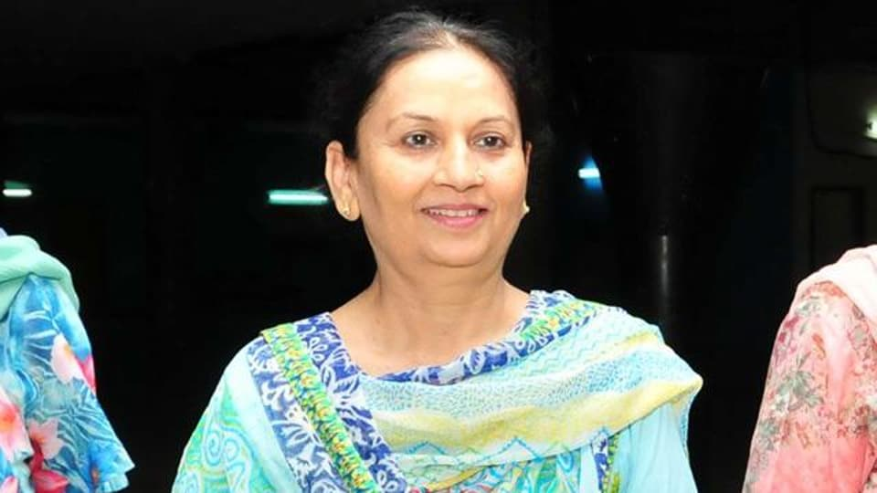 Punjab education minister Aruna Chaudhary.