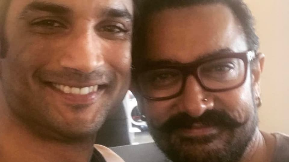 When Sushant Singh Rajput shared a selfie with actor Aamir Khan on Tuesday, Aamir's new look became a hot topic for discussion.