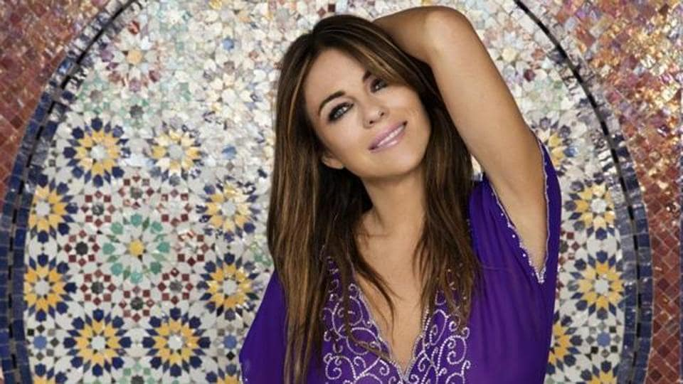 Elizabeth Hurley is currently shooting for a film in South Africa.