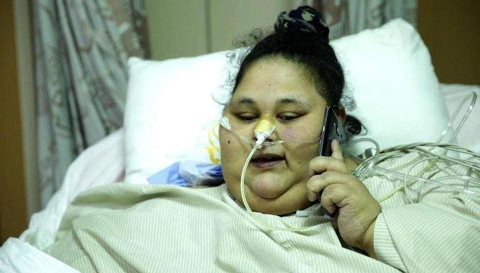 Eman Ahmed,Mumbai Siafee hospital,Abu Dhabi