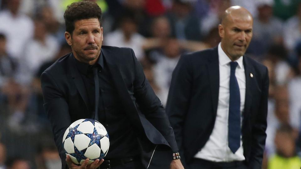 Atletico Madrid,Real Madrid,Champions League