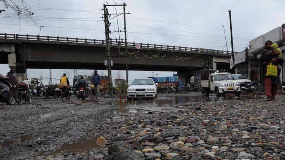 Road repair,Dug-up roads,Fine for bad roads