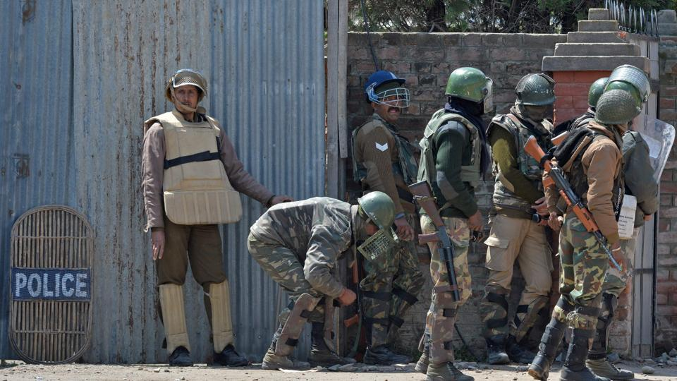 Following the snatching incident, an alert was sounded in Shopian district.