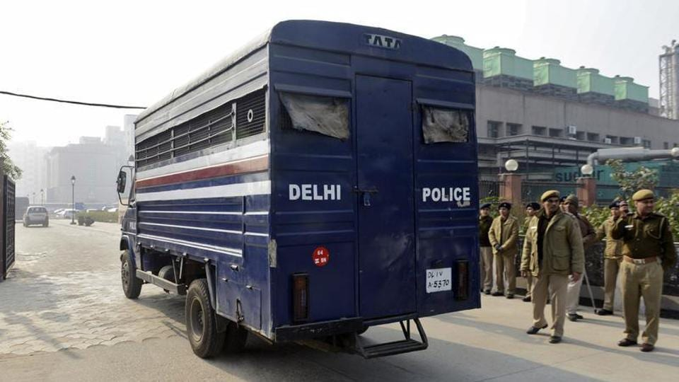 The Delhi Police on Wednesday raided the Indirapuram residence of a 40-year-old woman, who was arrested earlier for allegedly honey-trapping and blackmailing a BJP MP for Rs 5 crore.