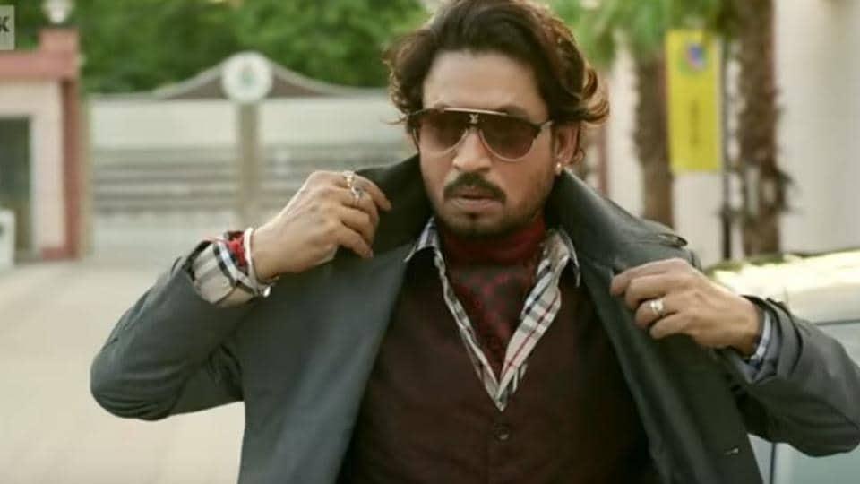 Irrfan Khan in still from Hindi Medium.