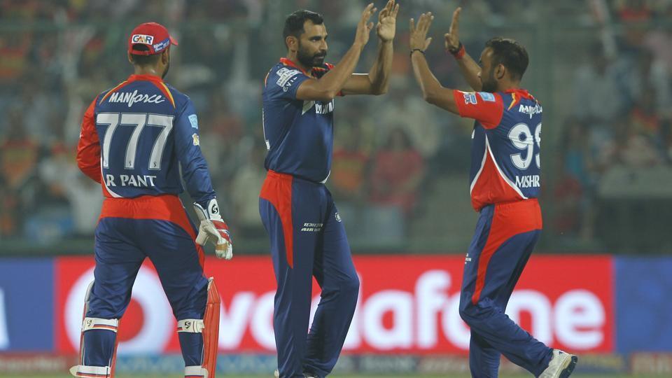 Delhi Daredevils pacer Mohammed Shami was named the Man-of-the-Match for his performance against Sunrisers Hyderabad in the 2017 Indian Premier League at the Feroz Shah Kotla in New Delhi on Tuesday night.