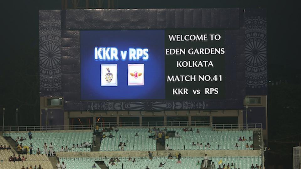 IPl 2017,Kolkata Knight Riders vs Rising Pune Supergiant,live score