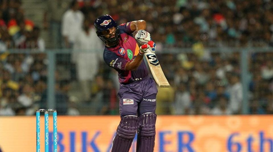 Rahul Tripathi's 52-ball 93 helped Rising Pune Supergiant beat Kolkata Knight Riders by four wickets at the Eden Gardens on Wednesday.  (BCCI )