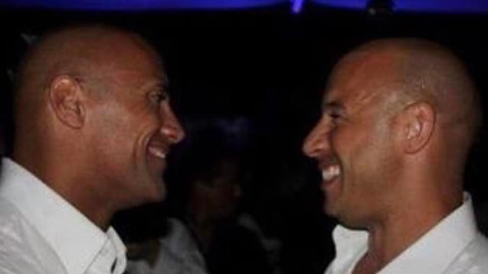 Vin Diesel and Dwayne Johnson have starred in three Fast & Furious movies together.