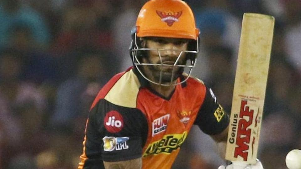 With some good performances in IPL 2017, ShikharDhawan is expected to feature in India's ICC Champions Trophy squad.