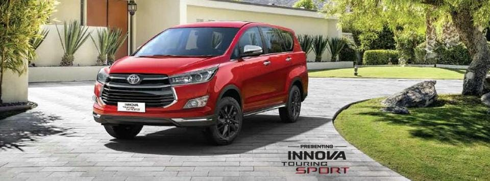 Toyota's new Innova Touring Sport remains largely the same as the standard Crysta model, which was showcased at the Delhi Auto Expo last year, and launched in April 2016.