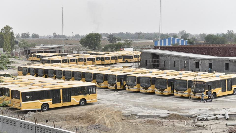 As part of the Rs 600 crore project, 93 low-floor AC buses were to be commissioned but only 15 were plying on the road even four months after the inauguration.