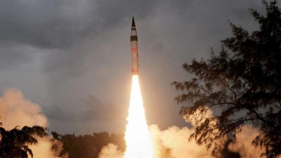 IThe trial of the surface-to-surface missile was conducted from a mobile launcher at the Integrated Test Range (ITR) on Abdul Kalam Island at around 10.25 am on Thursday.