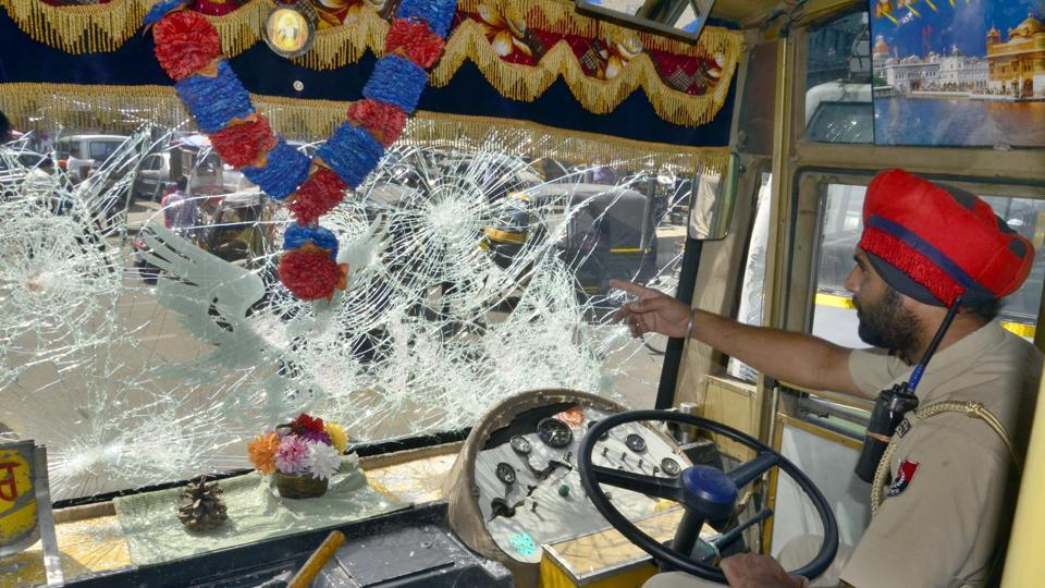Three persons each from the two groups were injured. One of them, Gurpreet Singh, who represented Pyaar Bus Service, reportedly received a bullet injury in his leg.