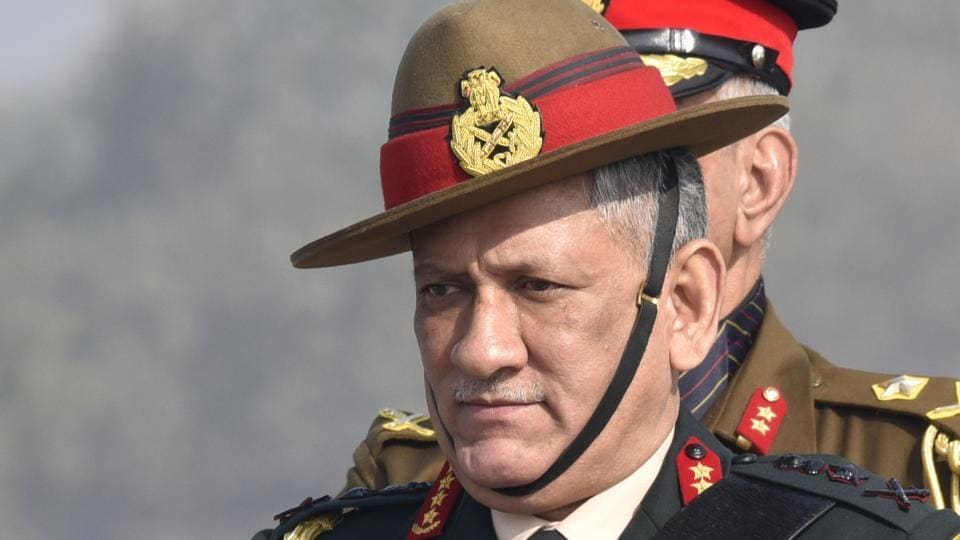 Army chief General Bipin Rawat's remarks came on a day security forces launched an anti-insurgency door-to-door search operation with around 4,000 troops.
