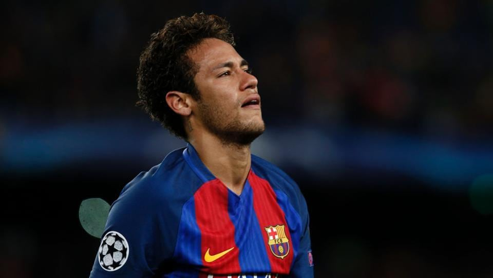 Barcelona's Brazilian forward Neymar has landed in a soup over his transfer from Santos to the Catalan giants in 2013.