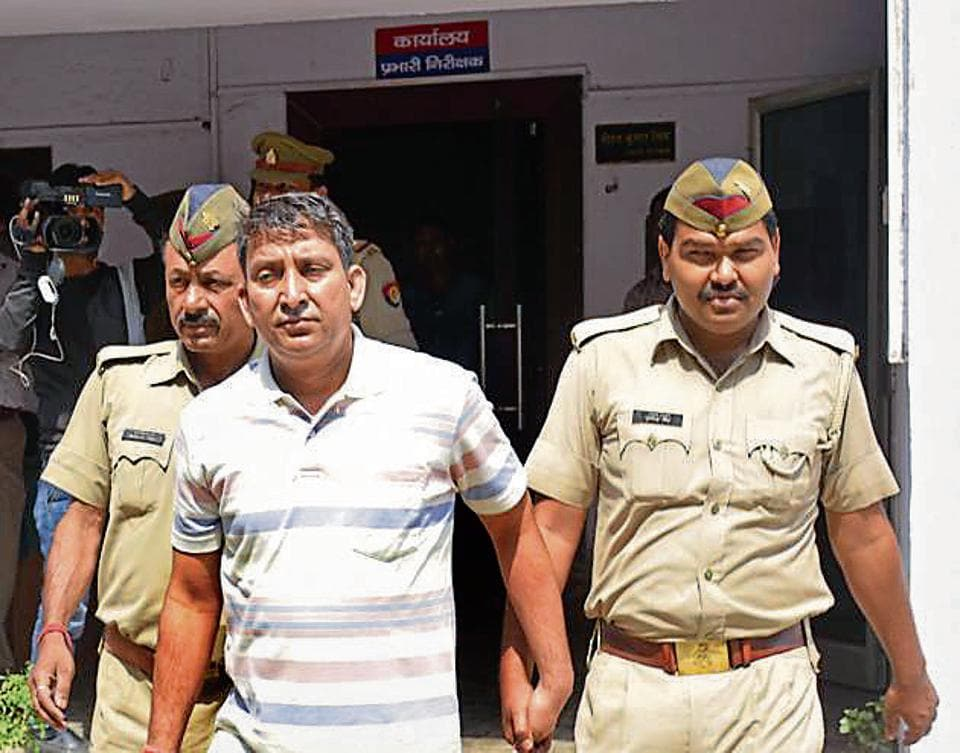 The police arrested 42-year-old Prince Singh and recovered a pistol and two cartridges from him.