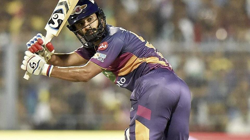 Rahul Tripathi scored a 52-ball 93 to help Rising Pune Supergiant defeat Kolkata Knight Riders in an Indian Premier League (IPL) 2017 match.