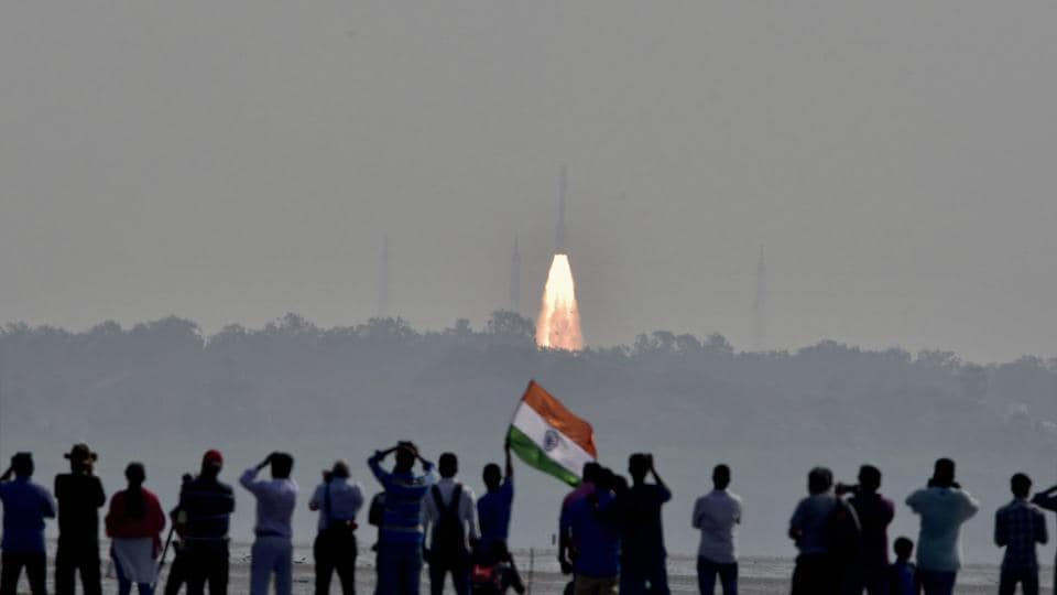 People watch as a rocket from Indian Space Research Organisation (Isro) takes off successfully, Sriharikota, Andhra Pradesh. (Representative Photo)