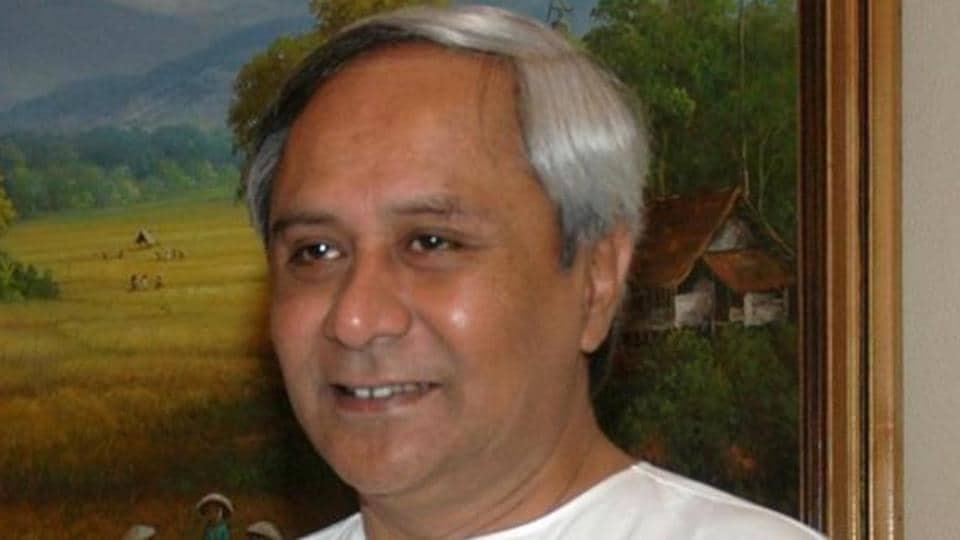 Chief minister of Odisha Naveen Patnaik.