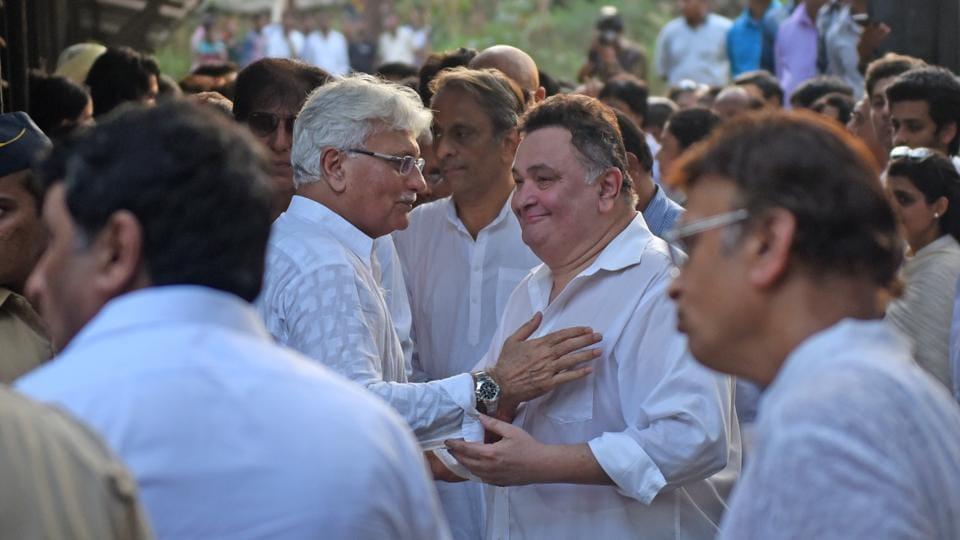 Rishi Kapoor,Celebs,Vinod Khanna