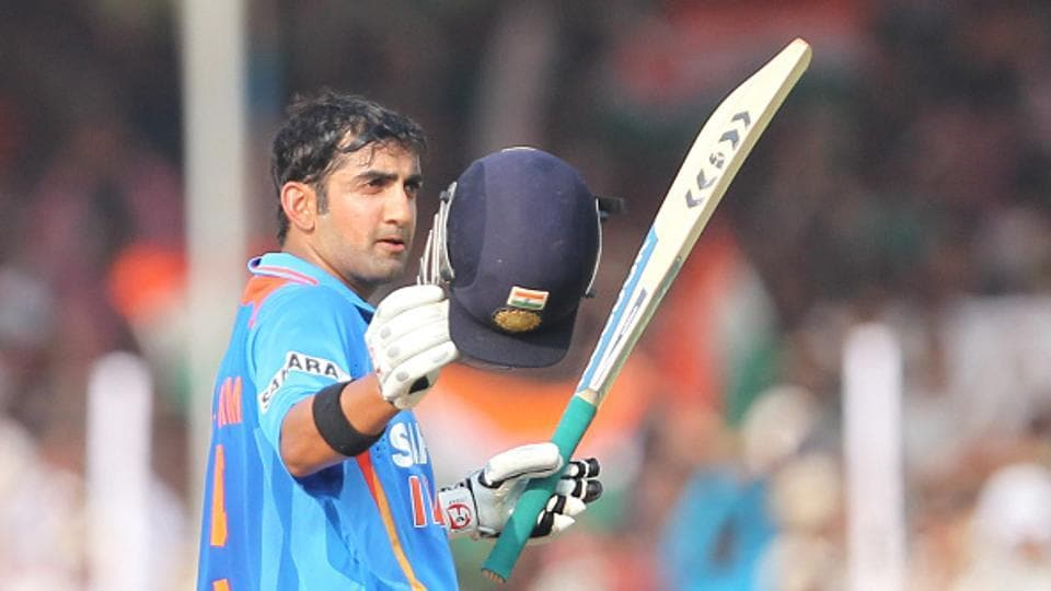 Gautam Gambhir last played an ODI for India back in January 2013, but is likely to be in the reckoning for a spot in the Champions Trophy squad after a prolific run of form in IPL 2017.