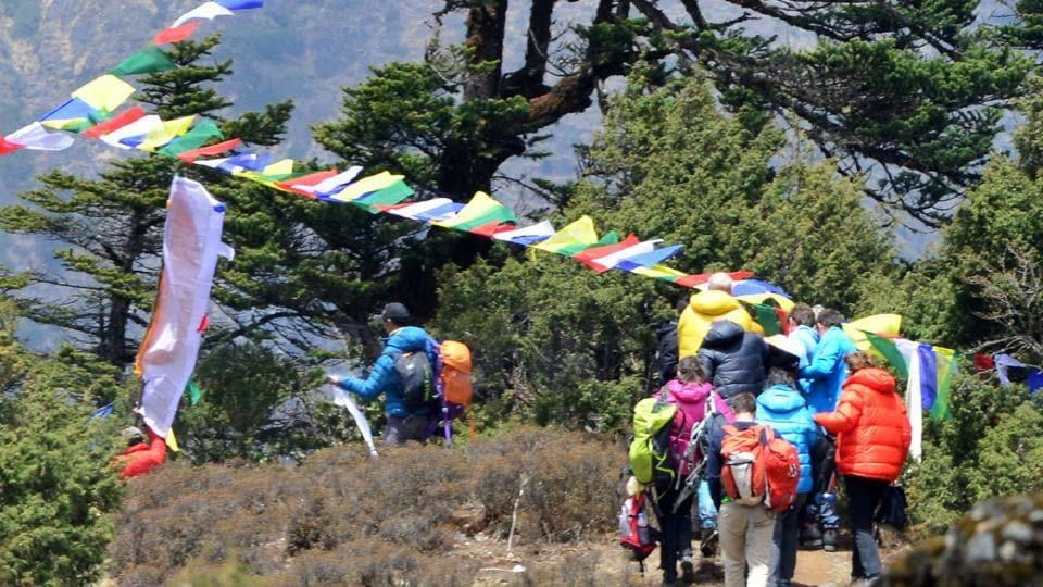 Swiss climber Ueli Steck,Mount Everest,Nepal