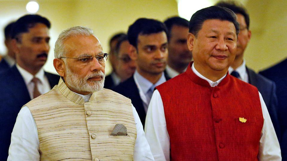 Prime Minister Narendra Modi with Chinese President Xi Jinping in October 2016.