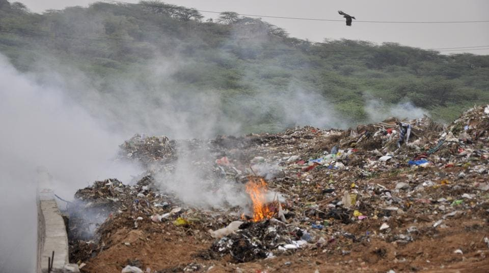 Panchkula,garbage,dump