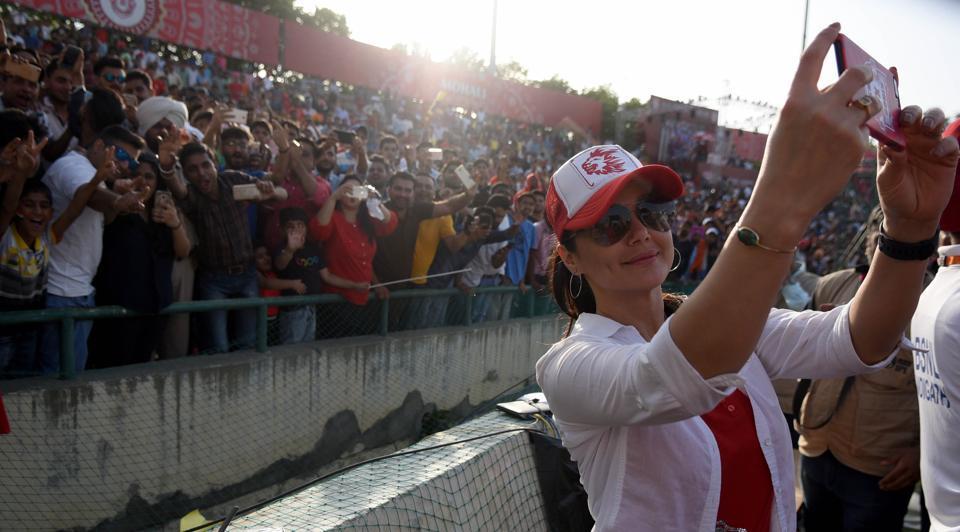 IPL 2017,Kings XI Punjab,Preity Zinta