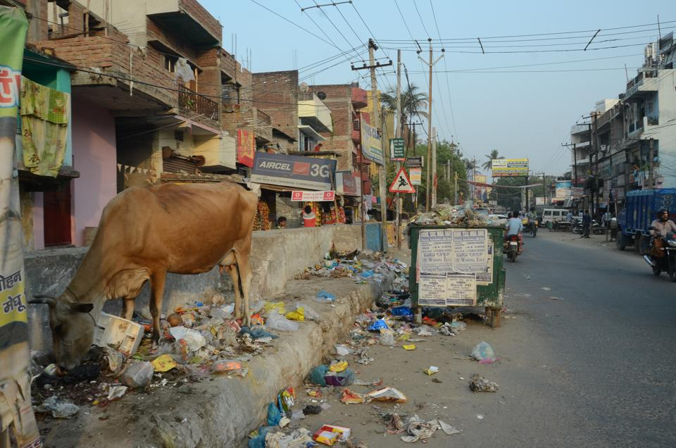 Bihar's capital Patna continues to have a garbage problem, despite its efforts to win the 'smart city' tag.
