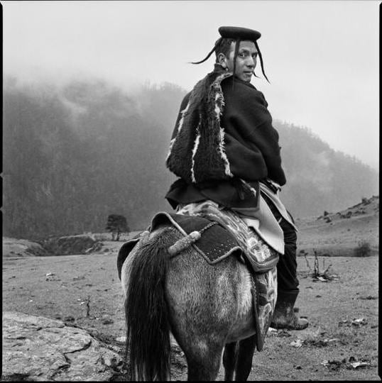 Sonam Wangdi, a Brokpa tribesman in Merak village, 2004. (Courtesy: Serena Chopra)
