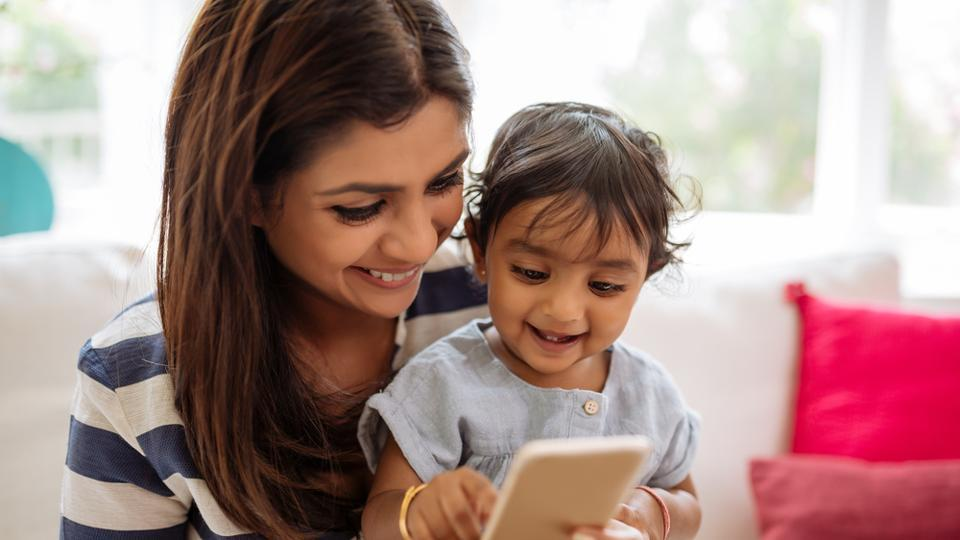 The more time children between the ages of six months and two years spent using handheld screens such as smartphones, tablets and electronic games, the more likely they were to experience speech delays.