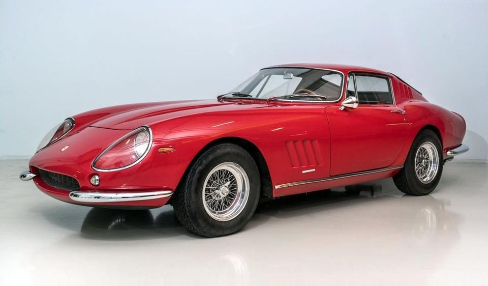 This was the first 275 GTB/4 produced in 1966 and was used to unveil this legendary model to the world on the Ferrari stand at the Paris Motor show that year.