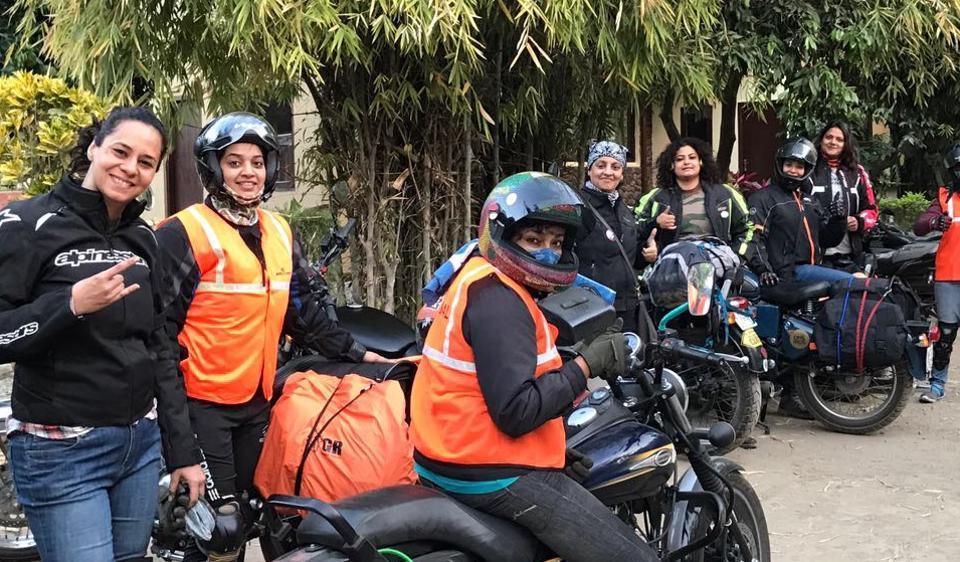 Delhi,International Female Ride Day,Chattarpur Metro station