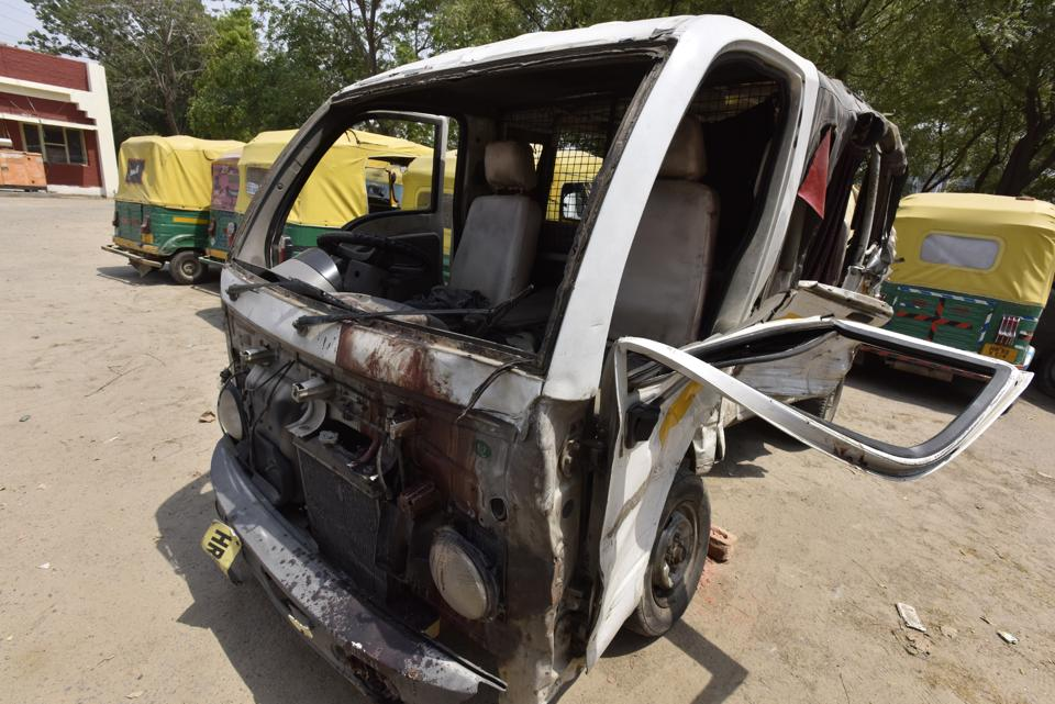 Two persons were killed after a Renault Duster and a small truck collided head-on near the Leisure Valley park, in Gurgaon.