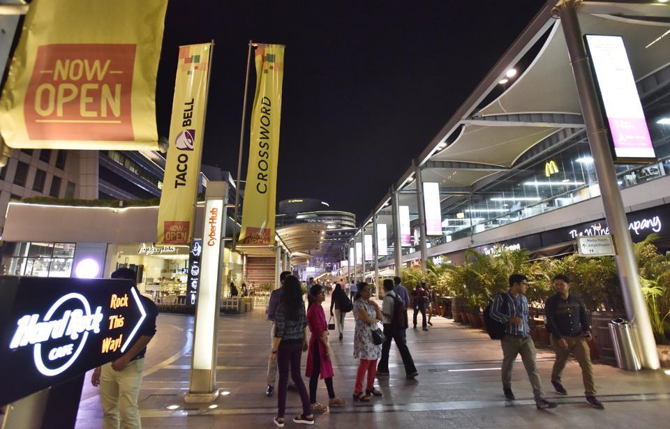 Cyber Hub Liquor Ban uplift,Cyber City,Gurgaon