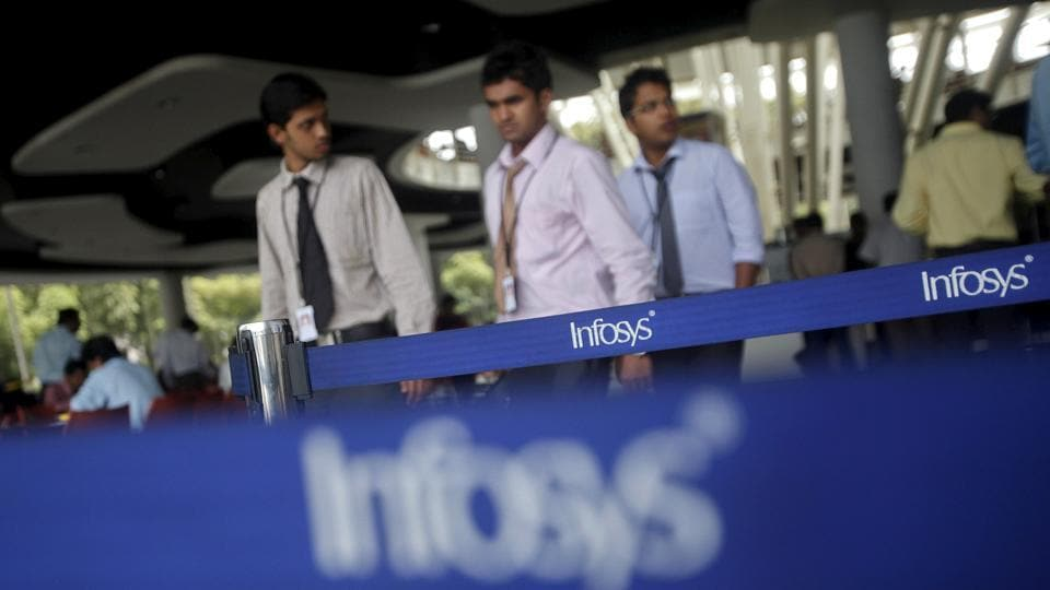 Employees of Indian software company Infosys at their campus in Electronic City, Bengaluru. The past few months have seen some of the biggest names in technology, ranging from Microsoft, Cisco, Infosys and Flipkart take decisions to downsize their workforce.
