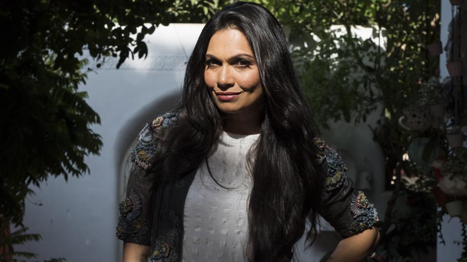 Maria Goretti at her home in Versova